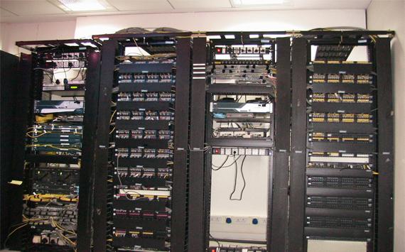 Slotted Angle Racks In Bangalore Networking Racks